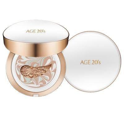 Kbeauty age 20s signature essence long stay cover pact