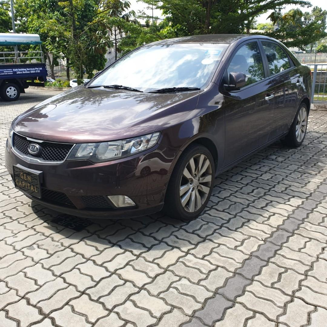 Kia Cerato Forte 1.6A @ Lowest rental rates, good condition!