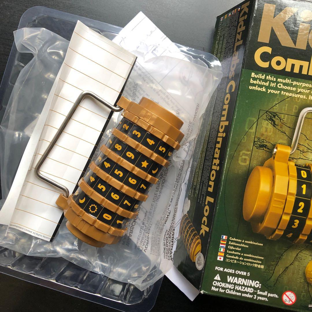 Kidzlabs combination lock
