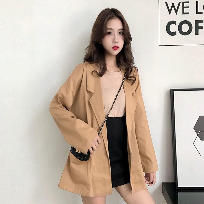 Korean ulzzang style outerwear coat blazer