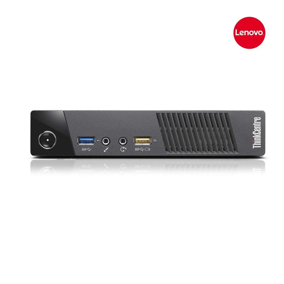Lenovo ThinkCentre M93p Tiny PC Mini PC, core i5-4570T 4th Gen #2.9Ghz ,8GB RAM ,New 240GB SSD ,DP to Hdmi Wifi ,Win 10 Pro,Refurbished