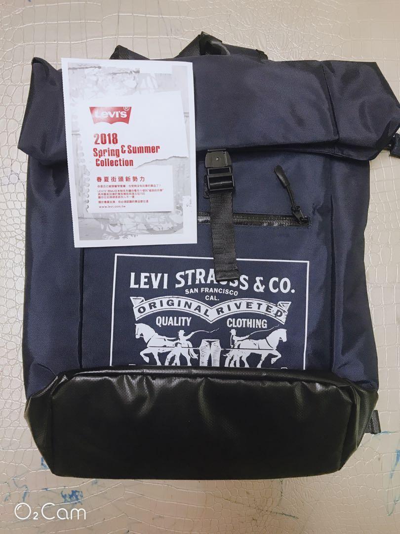 全新LEVI 大包包45x26.5x12公分折疊登山多功能萬用運動休閑後背包