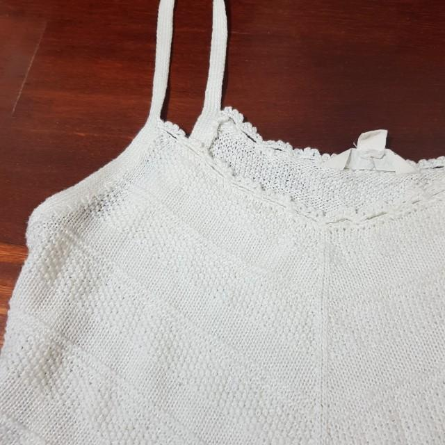 Loose knitted tank