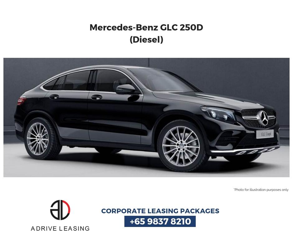 Mercedes-Benz GLC250d Coupe Diesel Auto AMG Line 4MATIC