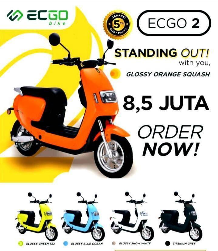 Motor listrik ECGOBIKE 2