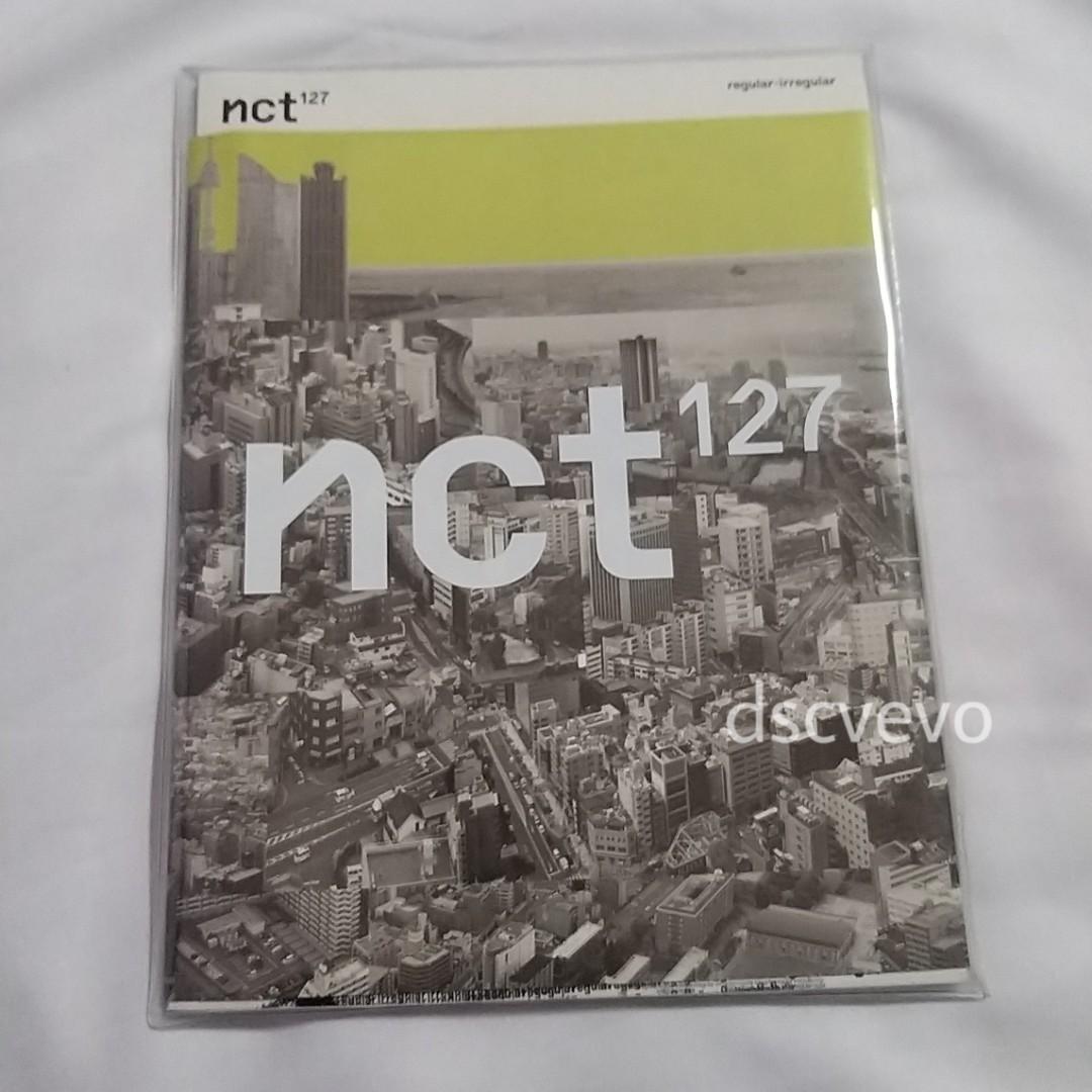 NCT127 Regular-Irregular Album (Regular version)