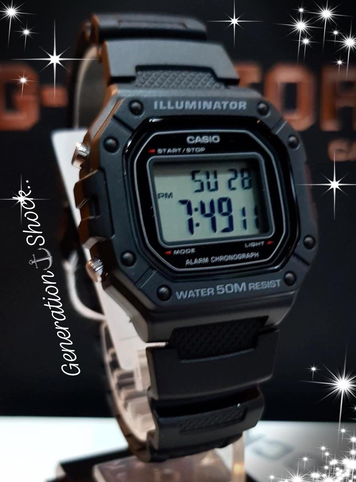 NEW🌟CASIO UNISEX SPORTS WATCH : 100% ORIGINAL AUTHENTIC : By BABY-G-SHOCK ( GSHOCK ) COMPANY : W-218H-1AV