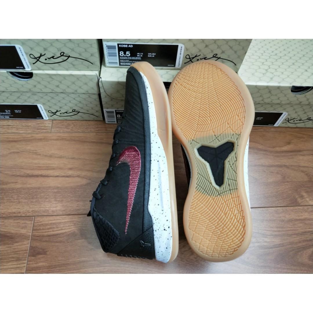 Nike Kobe AD mid 科比12曼巴 美國版 黑粉飛線922484-922482-006