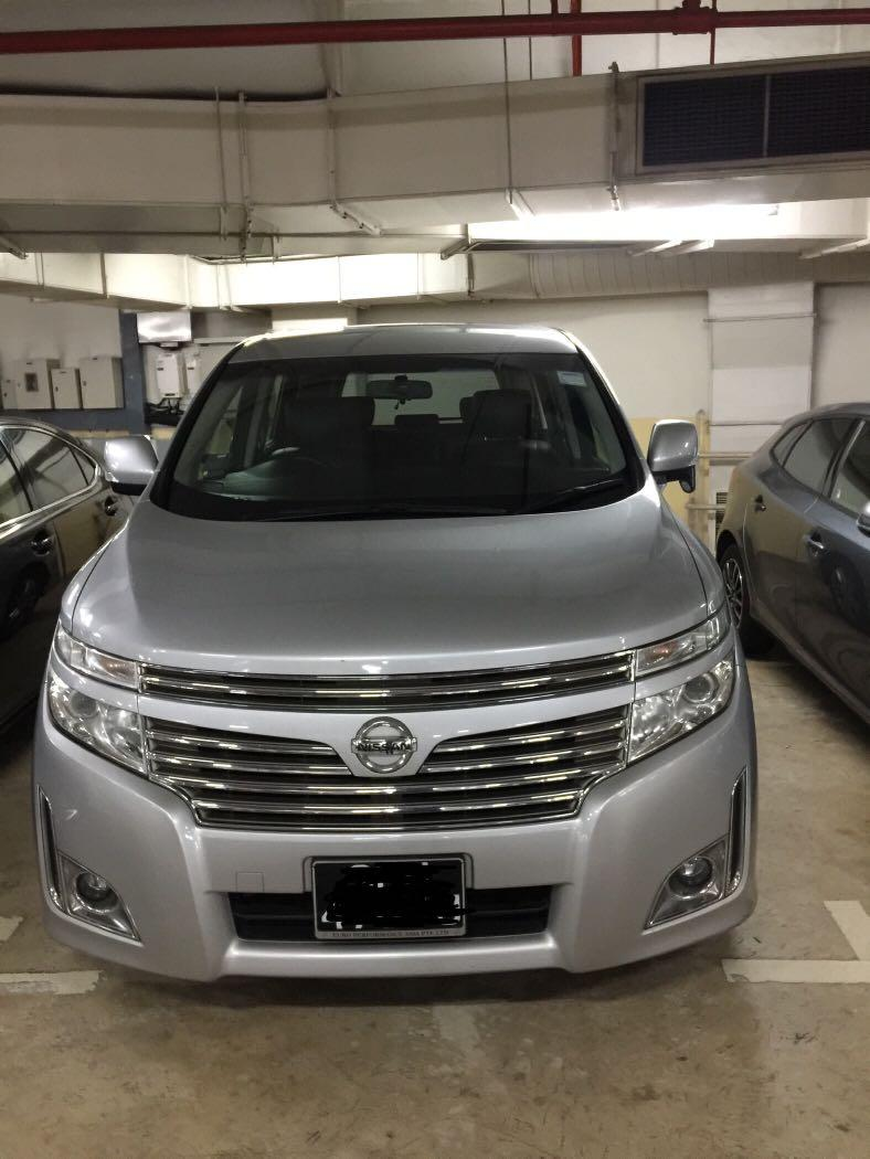 Nissan Elgrand (7 Seater)