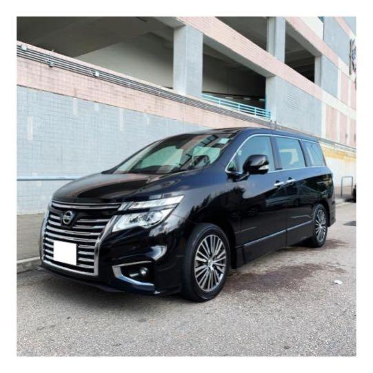 NISSAN ELGRAND HIGHWAYSTAR 2.5 2014