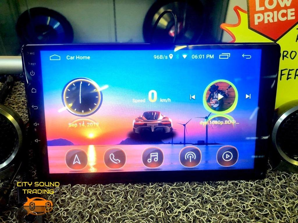 NOW RM199  Hot Selling MH Series Big Screen Car Android Multimedia System