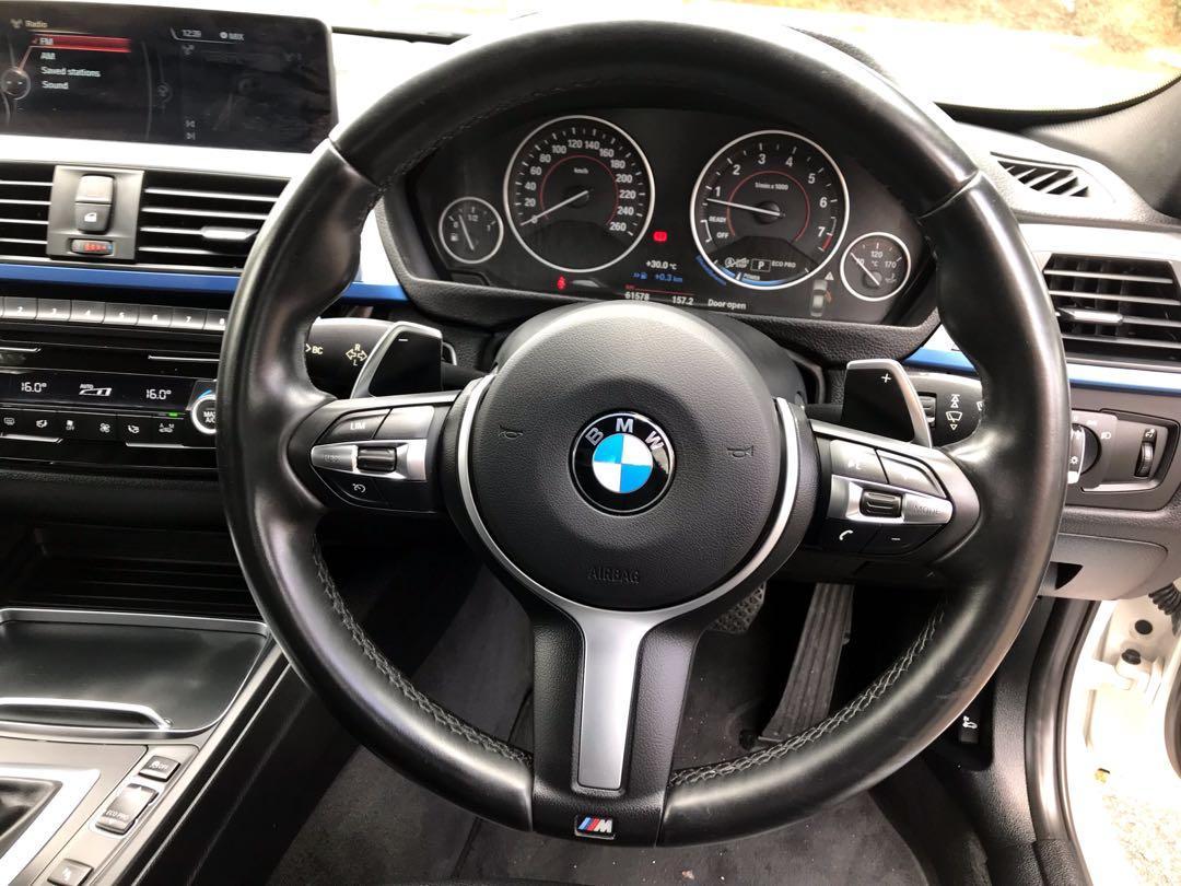 Ori 2016 BMW 330i 2.0 Facelift (A)1 Owner🎉Under Warranty🎉Twin Power Turbo Engine🎉(Not Hybrid)