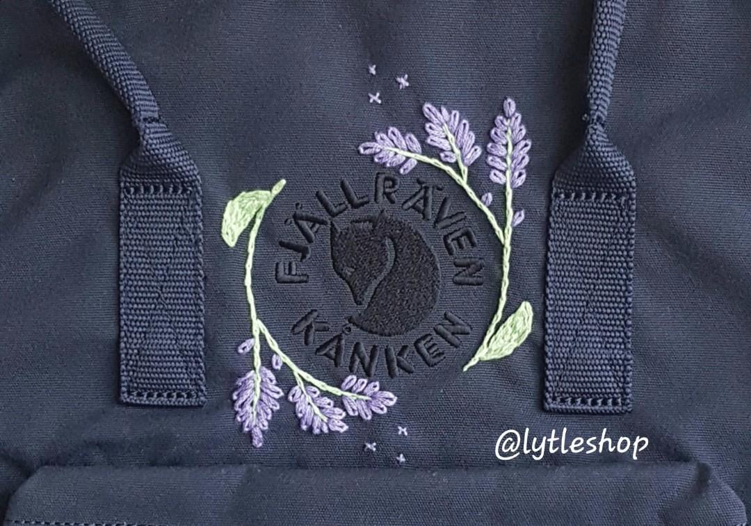 Personalised Kanken Embroidery
