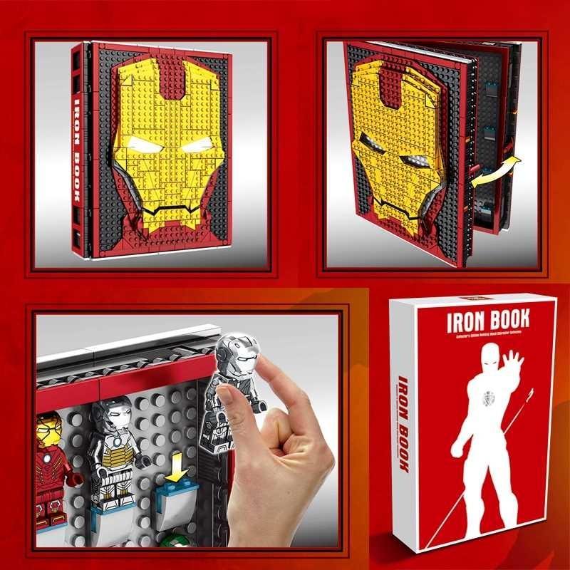 Preorder Ironman Minifig Collection Book