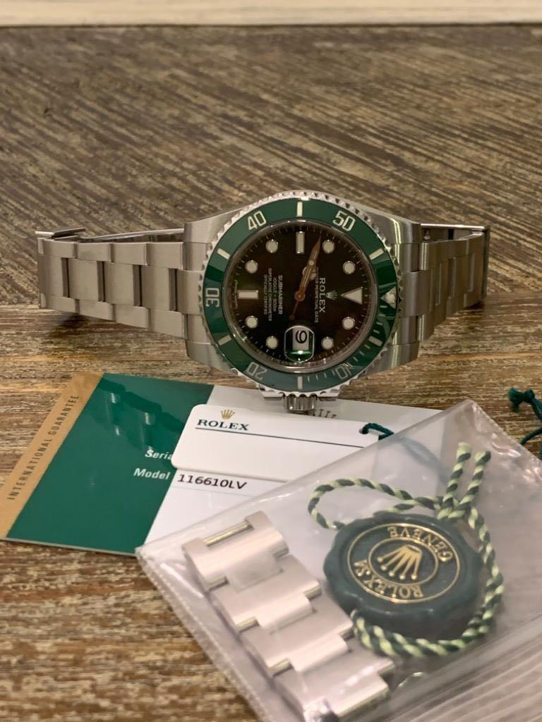 Rolex Submariner 116610LV Green Hulk