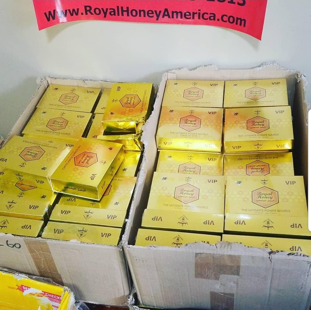 Royal Honey w/ Royal Jelly & Aphrodisiac Herbal Extracts