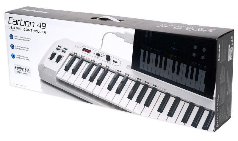 SAMSON Carbon 49 MIDI controller