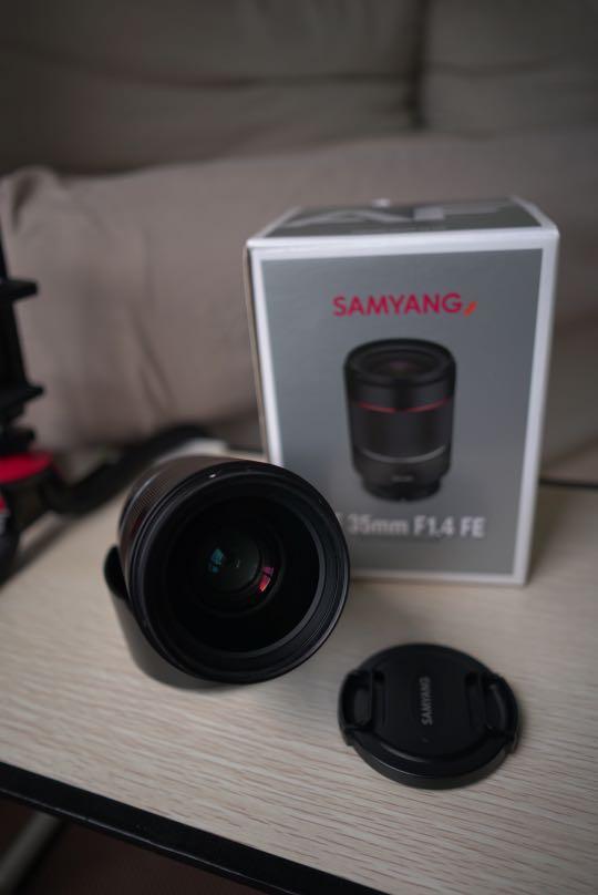 Samyang 35mm f1.4 FE len for Sony