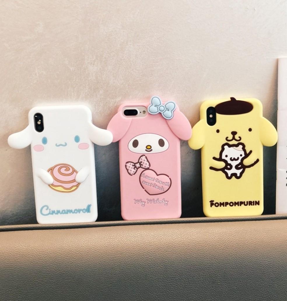 Sanrio silicon phone case