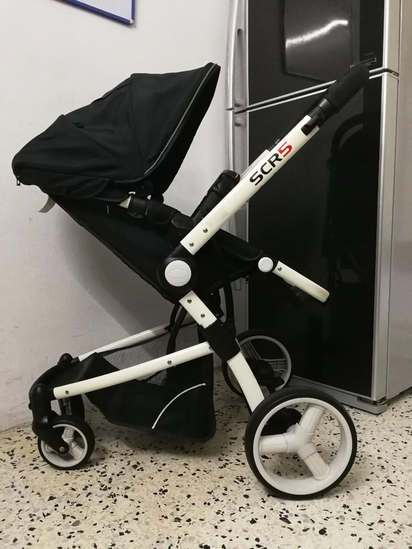 SCR 5 STROLLER (dual facing)
