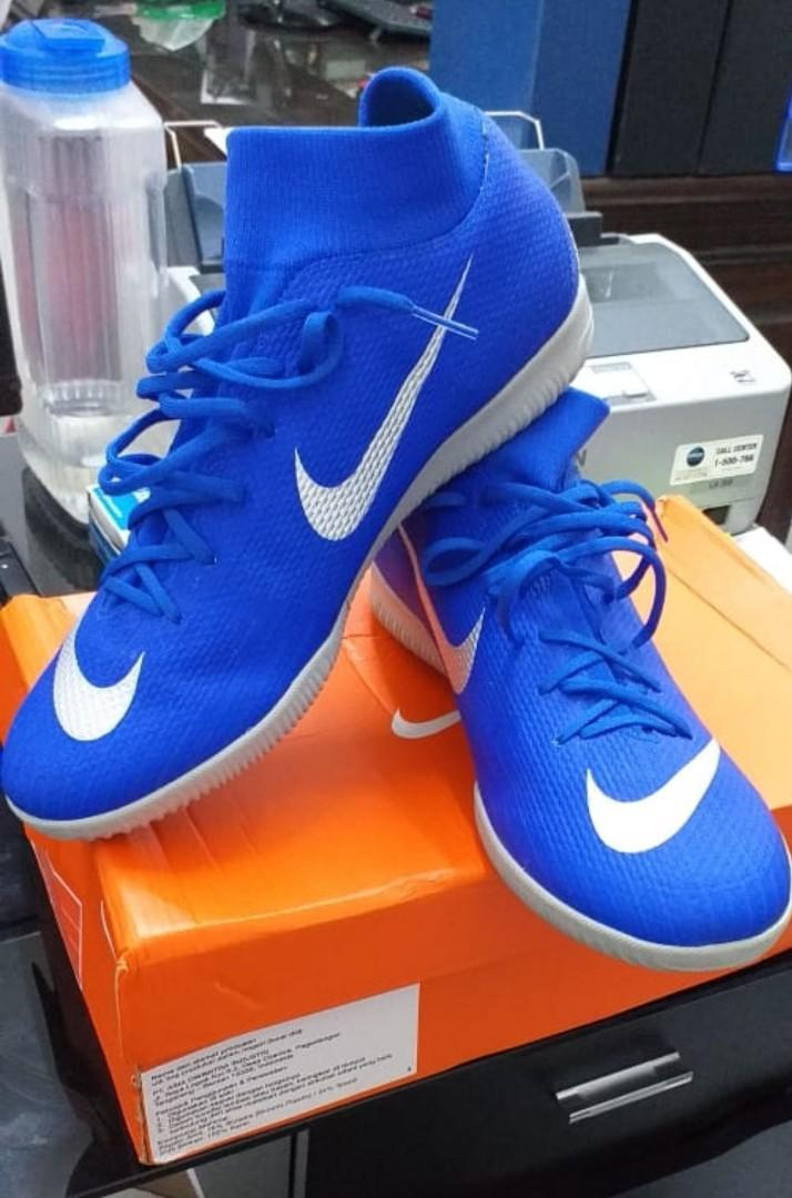Sepatu Futsal Nike Superfly 6 IC Racer Blue - Original 100&