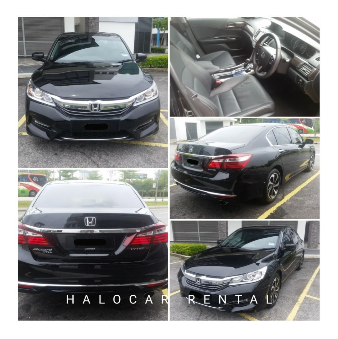 SEWA KERETA CAR RENTAL HONDA ACCORD CIVIC TOYOTA CAMRY SEDAN