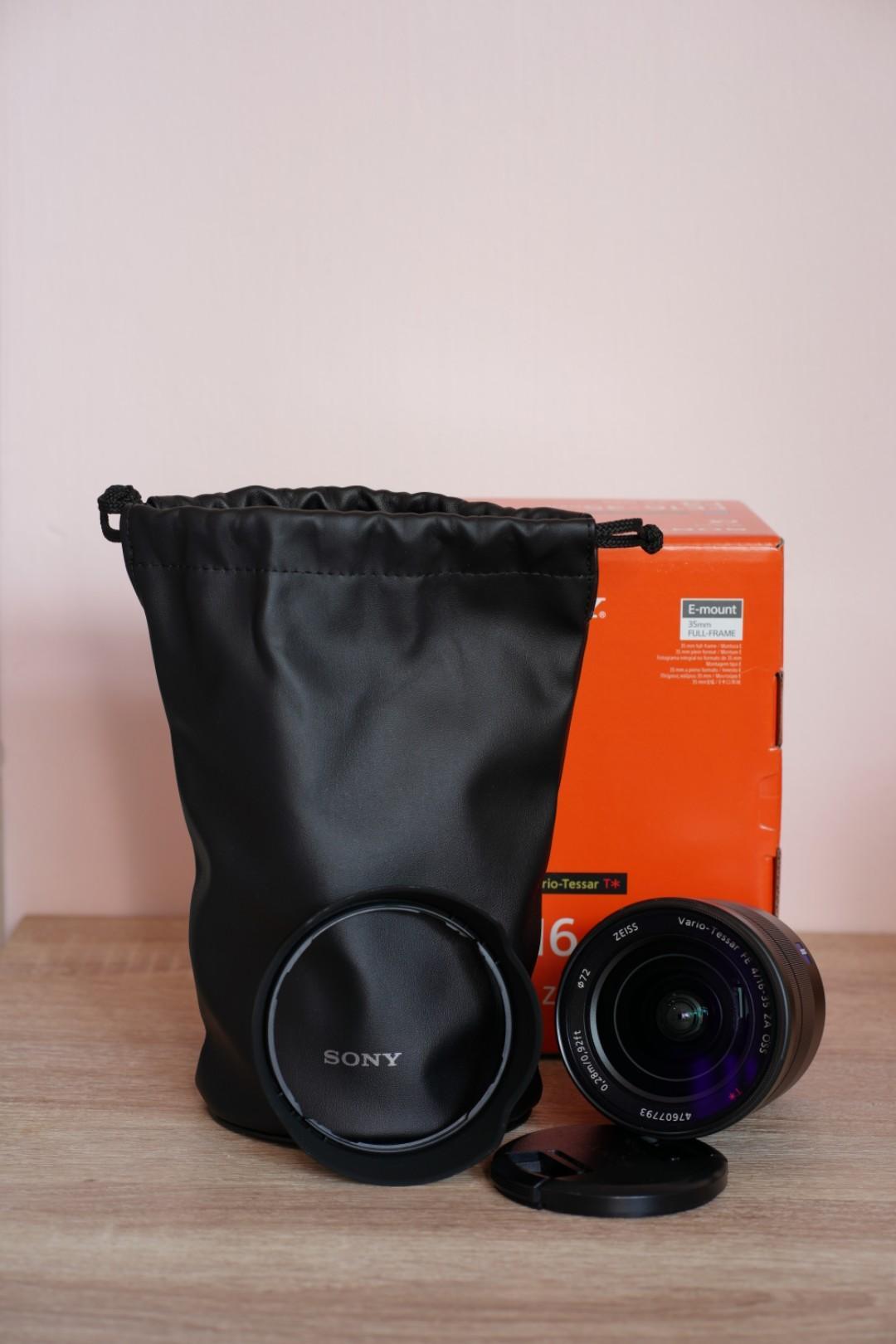 sony 16-35mm ZA    f4   E-mount
