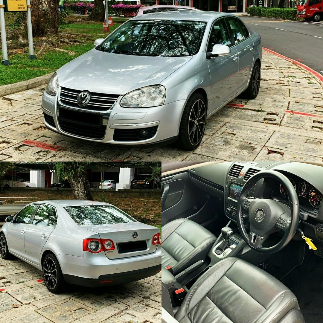 Sporty Volkswagen Jetta for rent