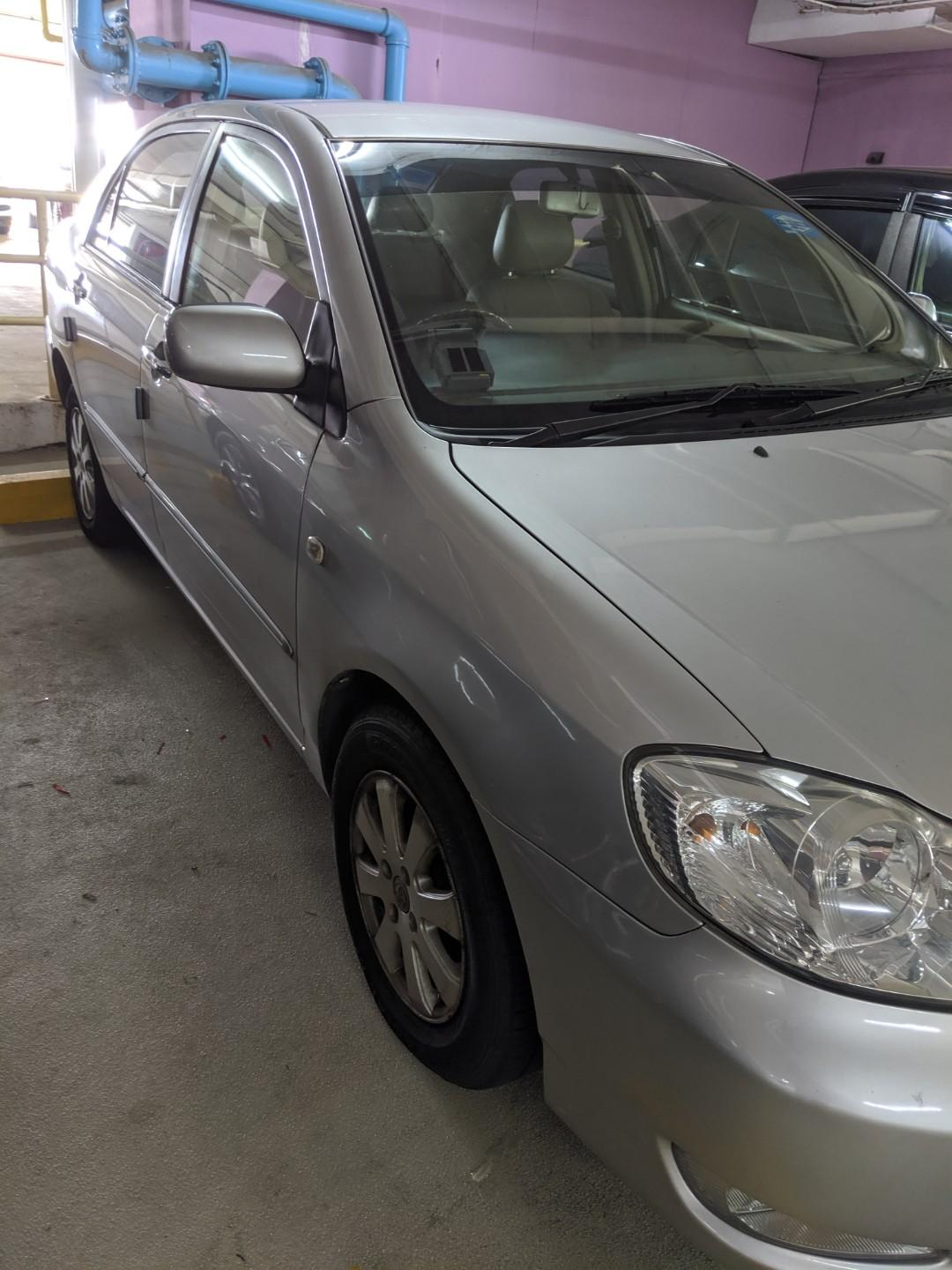 Toyota Altis 1.6 (PHV & Personal Usage) (Rent / Rental / Lease)