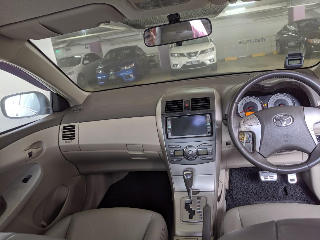 Toyota Altis 1.6A (PHV & Personal Usage) (Rent / Rental / Lease)