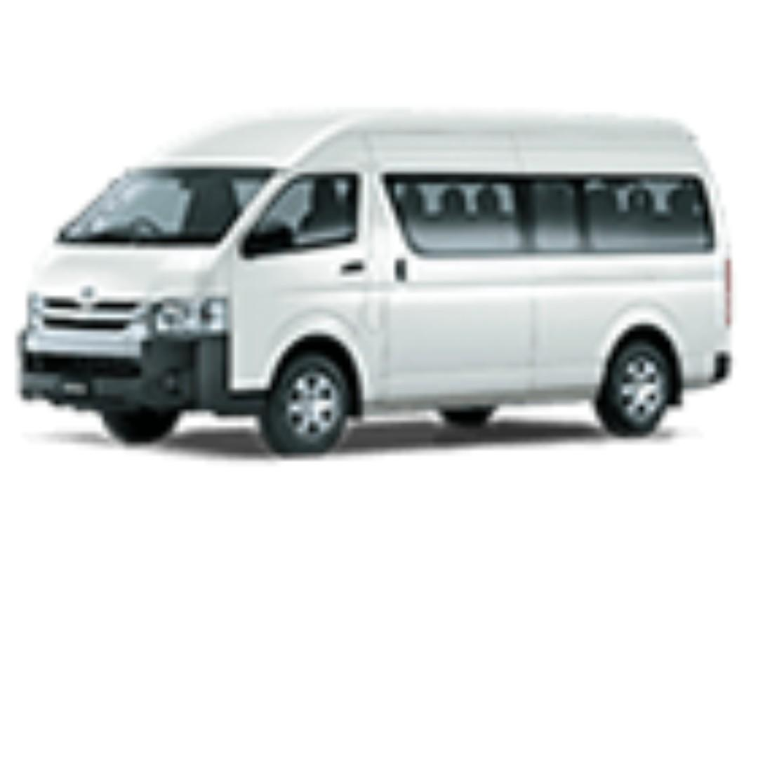 Toyota Commuter PA Bus- 12 seater+1 Driver