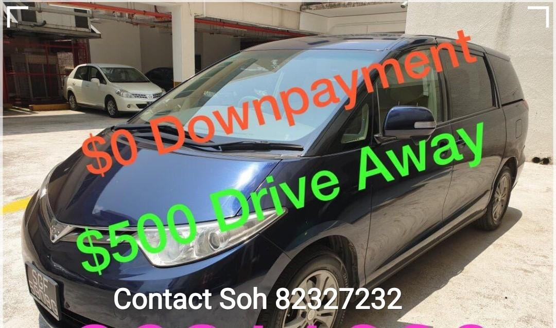 Toyota Estima 2.4a 8seater Coe till April 2021  Auto