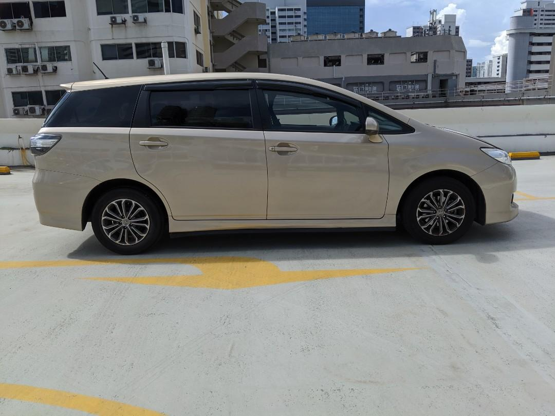 Toyota WISH 1.8A (PHV & Personal Usage) (Rent / Rental / Lease)
