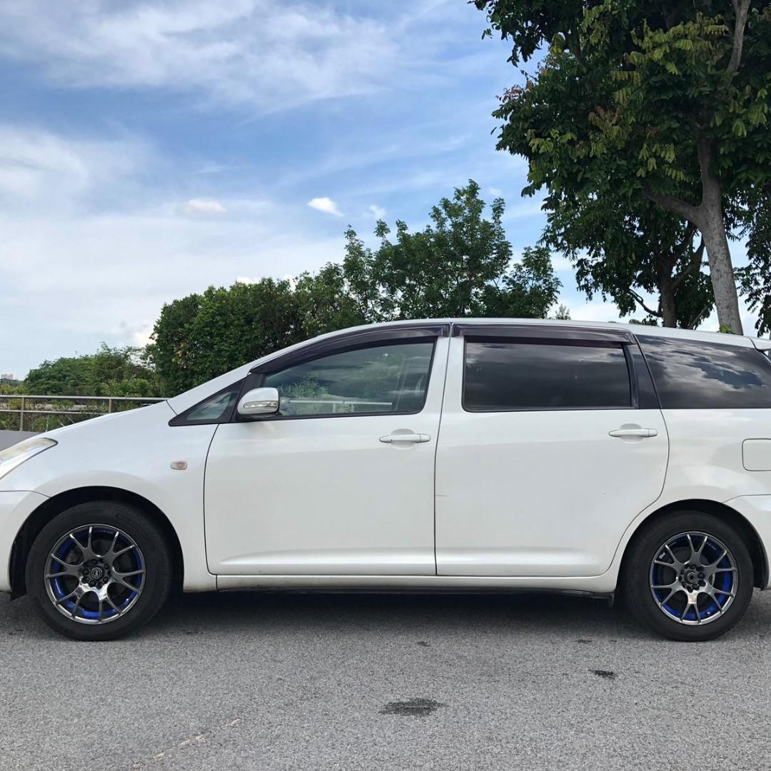 Toyota Wish cheapest rental!