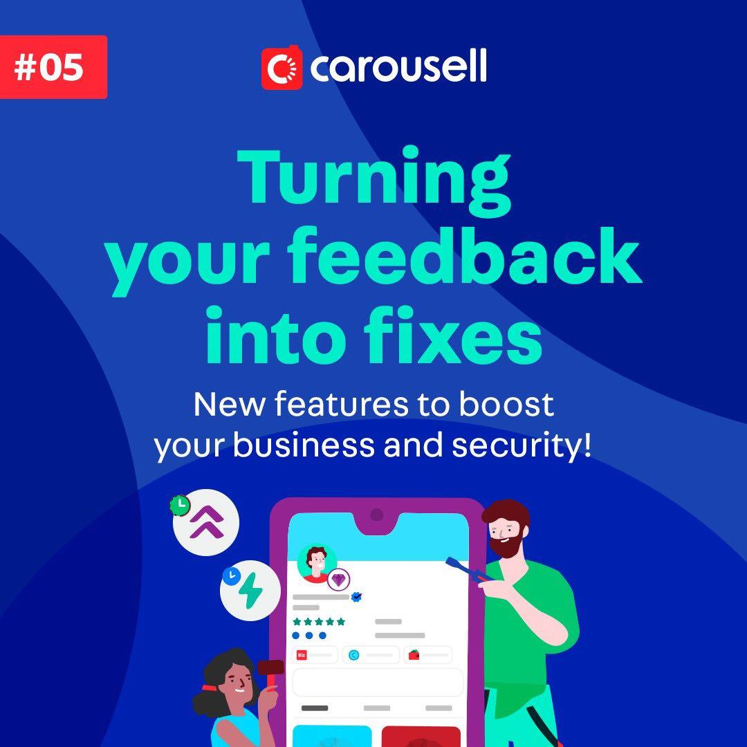Turning your feedback into fixes #5