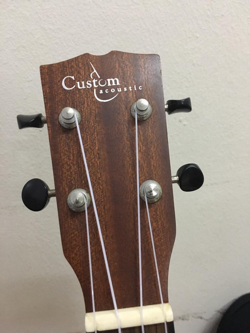UC6E Custom Acoustic Ukulele