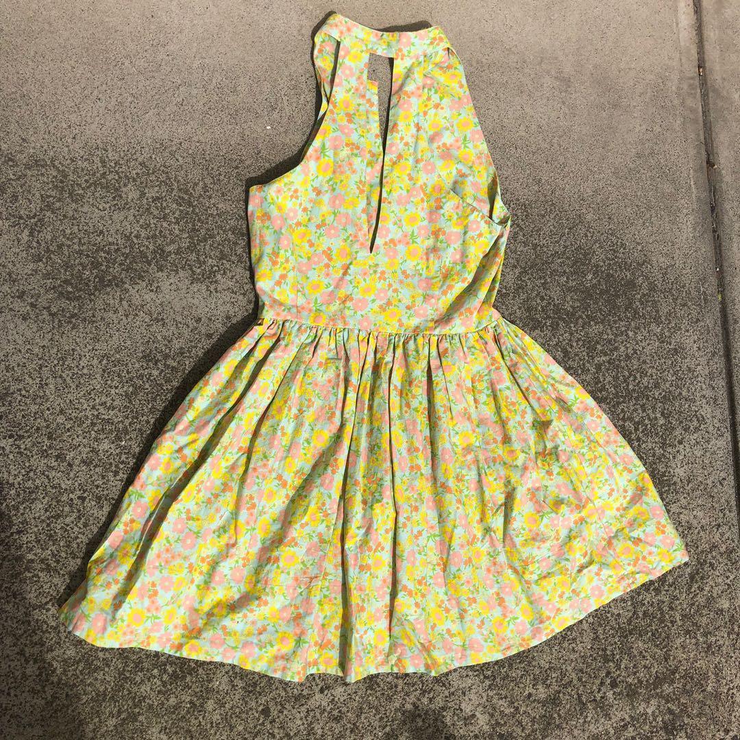 Vintage Handmade Dress - ( Price includes free standard postage within Australia