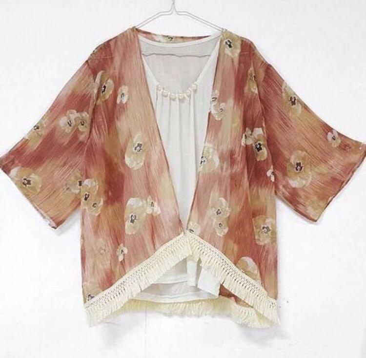 Vintage Outer   Kimono