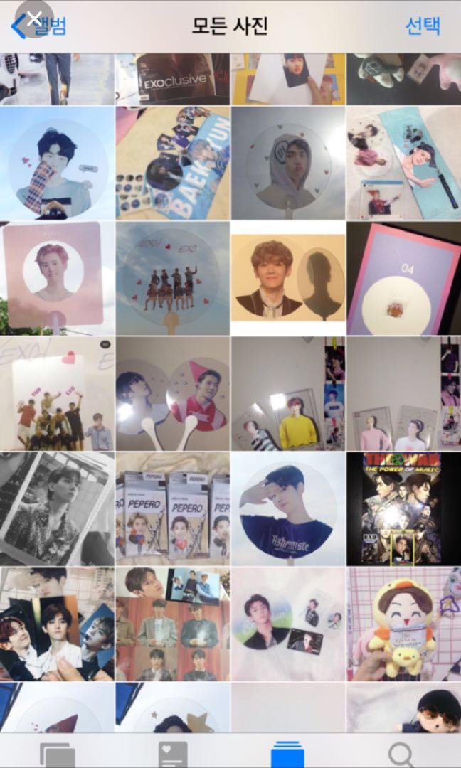 WTS FAST #EXO album,posters,doll,photocard,fan, slogan,stickers…