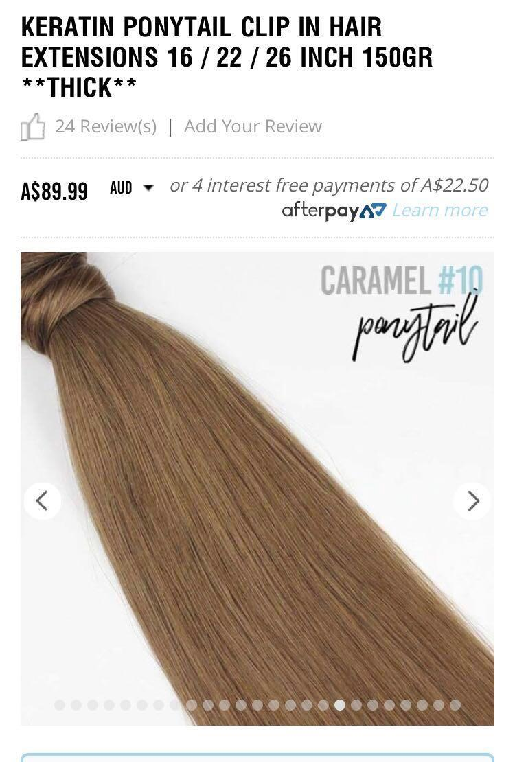 ZALA ponytail hair extension