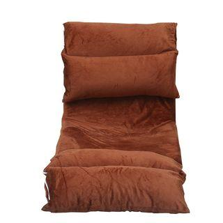 BIG Size Foldable Long Sofa Futon with Detachable Cover