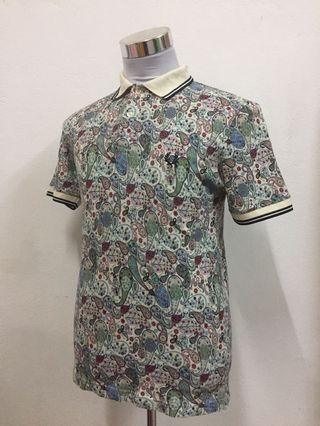 Fred perry X liberty polo shirt
