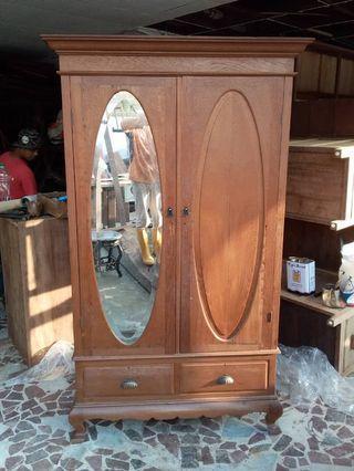 Vintage Teakwood Cabinet
