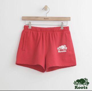 ROOTS-棉質運動短褲