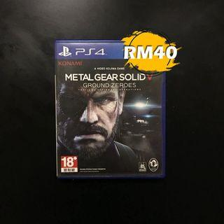 PS4 Metal Gear Solid Ground Zeroes R3