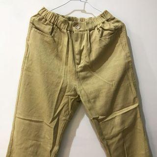 寬鬆長褲 九分褲
