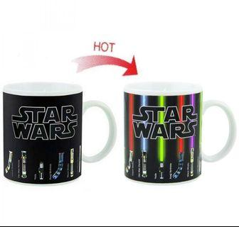 Magic Mug Cangkir Sensitif Suhu Motif Lightsaber Starwars