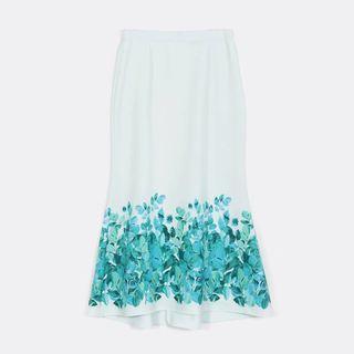 Plus Size Mermaid Skirt (Brand : Ms. Read)