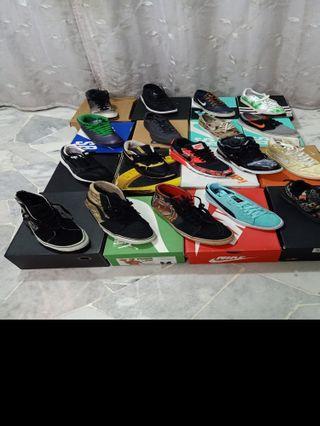 Nike, Adidas, Puma, Vans For Sale