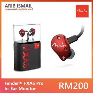 Fender® FXA6 Pro In-Ear Monitors